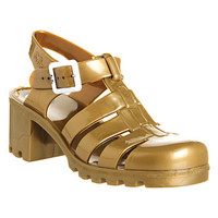 JuJu Babe Hi Juju Jelly Gold - Sandals
