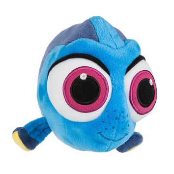 "Licensed cool 8"" Finding Baby Dory Blue Fish Mini Bean Bag Plush Doll Disney Store 2016 NEW"