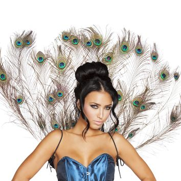 Roma RM-4564 Peacock Tail Feather