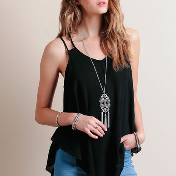 Keep Each Other Company Top In Black
