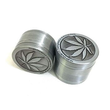 3 Parts Mini Herb Grinder Weed Smoke Tobacco Hand Muller for Hookah Shisha Water Pipe Diameter 40mm Drop Shipping