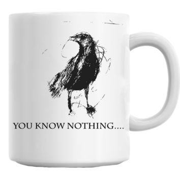 Crow You Know Nothing (Game of Thrones) Mug