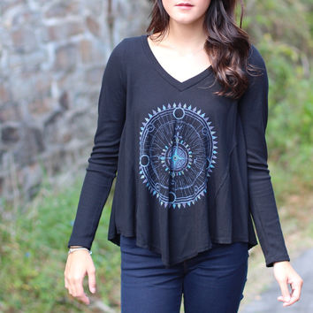 Vintage Havana: Follow the Compass Thermal {Black}