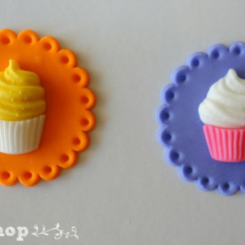 Cupcake themed /party / cucpake topper set