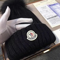 Moncler Women Beanies Knit Winter Hat Cap