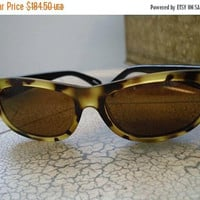 On Sale GIANNI VERSACE Versus Sunglasses Vintage Mod. EO5 Col. 114 Vintage Hipster Accessories Glamour Girl  Authentic Designer Couture