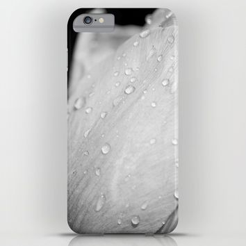 Flower In Drops iPhone & iPod Case by Cinema4design