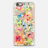 Clear Colored Mosaic iPhone 6 case by Pineapple Bay Studio | Casetify
