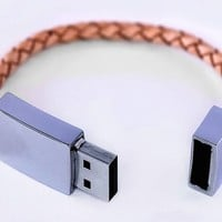 Leather USB By Scandinavian - $48 | The Gadget Flow