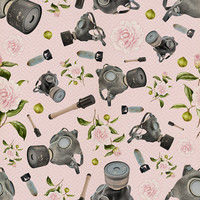 Removable Wallpaper - Don't Stop to Smell the Roses