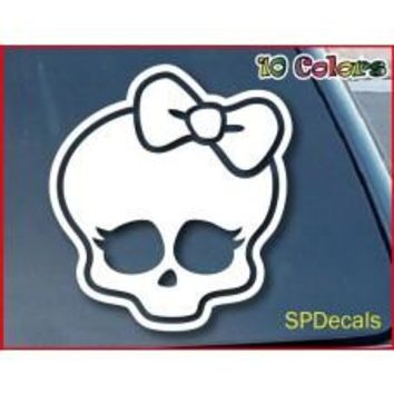 Monster High Girl Skullette Car Window Vinyl Decal Tablet PC Sticker