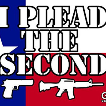 Second Amendment State Flag Stickers -2nd Amendment Car Stickers for Car Window Truck Decals NRA Decal Gun Rights Decal Gun Control Bumper Sticker Gadsden Flag - Texas Flag