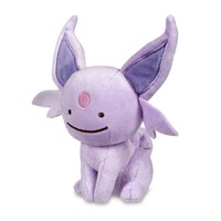 Ditto as Espeon Poké Plush (Standard Size) - 7""