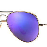 Ray-Ban RB3025 167/1M 58-14 AVIATOR FLASH LENSES Bronze-Copper sunglasses | Official Online Store US