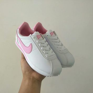 """""""Nike Cortez"""" Women Casual Fashion Multicolor Leather Running Shoes Retro Sneakers"""