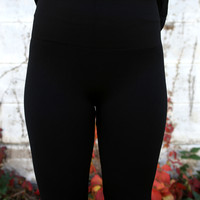 Fleece Legging {Black}
