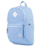 Herschel Supply Co.: Lennox Backpack - Chambray Crosshatch / White Rubber