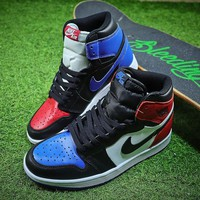 Air Jordan 1 OG Retro High Top 3 555088-026 AJ1 Basketball Shoes - Best Online Sale