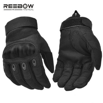 Military Outdoor Tactical Combat Gloves Hard Knuckle Security Working Gloves for Airsoft Paintball Cycling Motocross