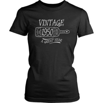 Vintage: Born in the Fifties [1950] Women's T-Shirt & Tank