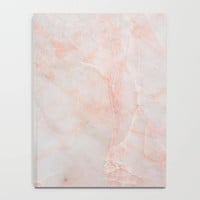 Marble Collection: Pink Gray Marble Journal, Minimalist Journal, Pink Marble Notebook, Marble Journal, Pink Marble Print Notebook