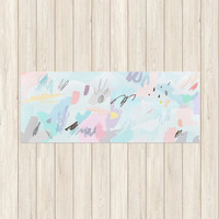 Pastel Sketch Yoga Mat