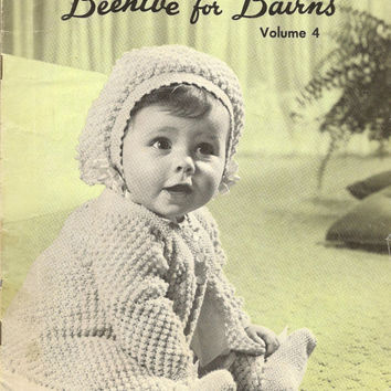 Beehive for Bairns Volume 4 Knitting and Crochet for Baby - sweaters bootees shawls jackets accessories