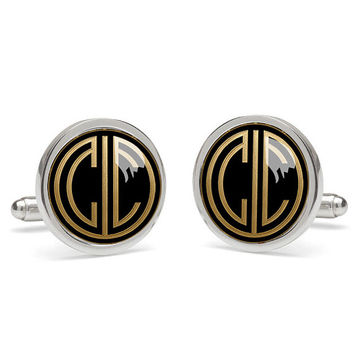 monogrammed cuff links  cufflink,photo cufflinks,presents for dad ,father of the bride cufflinks,daddy cufflinks,good presents for dad