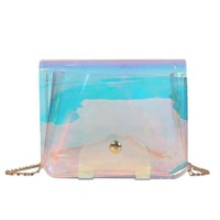 On The Way Laser Holo Mini Purse