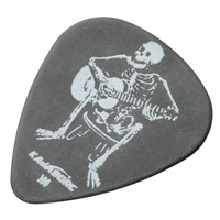 KAVABORG-100 Flexible Anti-wear Rock Series Delrin Guitar Pick White