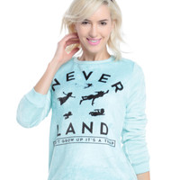 Disney Peter Pan Neverland Woobie Girls Pullover Sweater