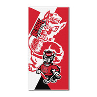 North Carolina State Wolfpack NCAA ?Puzzle? Over-sized Beach Towel (34in x 72in)