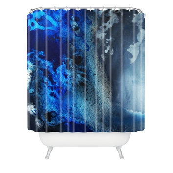 Madart Inc. Midnight 1 Shower Curtain