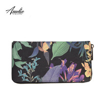 AMELIE GALANTI 2016 new fashion flower day clutches multilayer wallet women bag free shipping