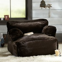 Coffee Luxe Fur Eco Lounger