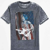 Jimi Hendrix USA Burnout Tee