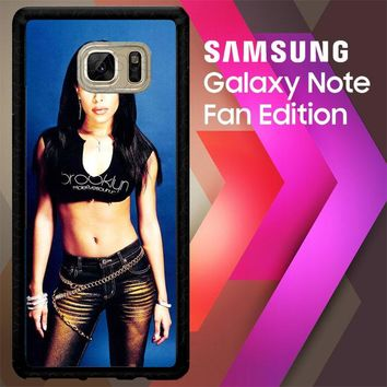 Aaliyah Y0238 Samsung Galaxy Note FE Fan Edition Case