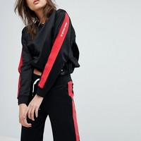 G-Star Sweatshirt with Sleeve Taping at asos.com