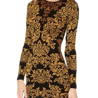 Torn by Ronny Kobo Bouquet Jacquard Mammie Dress | SHOPBOP