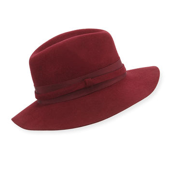 Guardian Wool Felt Hat, Size: MEDIUM, red - Lola Hats