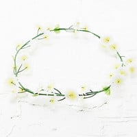 Flower Crown in White - Urban Outfitters