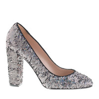 J.Crew Womens Collection Etta Sequin Pumps