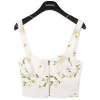 Dandelion Embroidered Bralet | FashionShop【STYLENANDA】