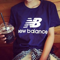NB New Balance  fashion short-sleeved shirt
