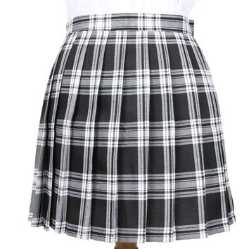 9067d76b5 Winter Wool Umbrella A Line Vintage Plaid Skirt Pleated Tartan S. Gender: Women  Dresses ...