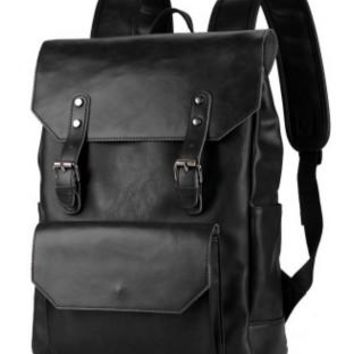 Student Backpack Children Shoulder bag fashion European and American Wind bags middle school students backpack men and women AT_49_3
