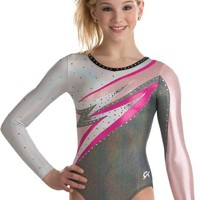 Abstract Lightning Gymnastics Leotard from GK Elite