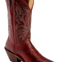 Justin Red Torino Cowgirl Boots - Snip Toe - Sheplers