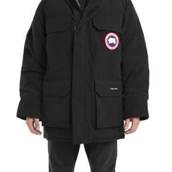 Canada Goose Men's Expedition Parka in Black