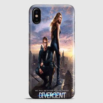 Divergent Mortal Instrument And Hunger Game iPhone X Case